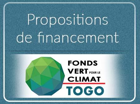 Propositions de financement